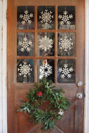 Snowflake Door Decorations
